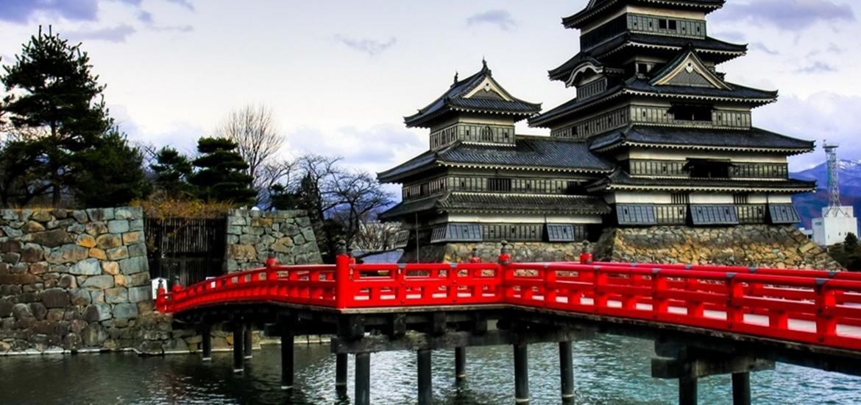 тур в Японию, замок Мацумото
