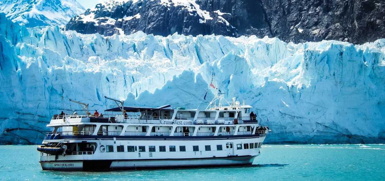 Круиз по Аляске: среди льдов