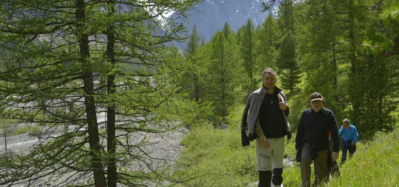 Активный тур на Алтае: поход к Шавлинским озерам