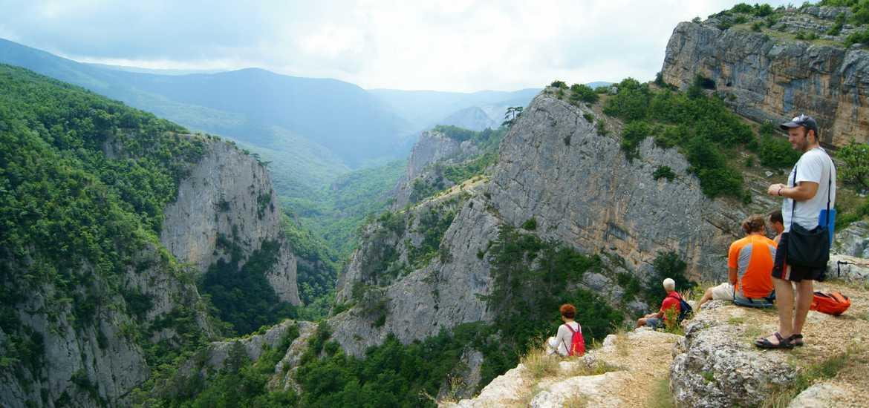 Поход через Большой каньон Крыма