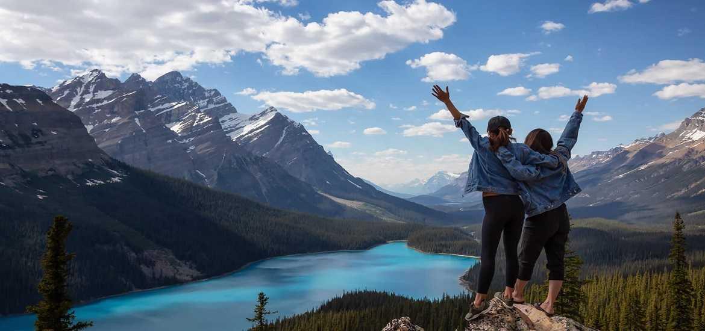Тур в Канаду: Скалистые горы. По следам коренных американцев.