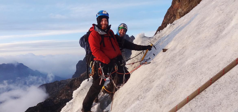 Восхождение на пик Маргарита горы Стэнли в массиве Рувензори