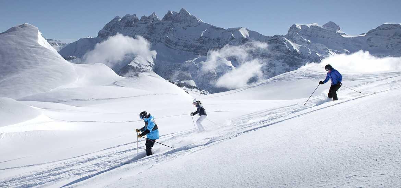 Школа лыжного туризма в Альпах для новичков