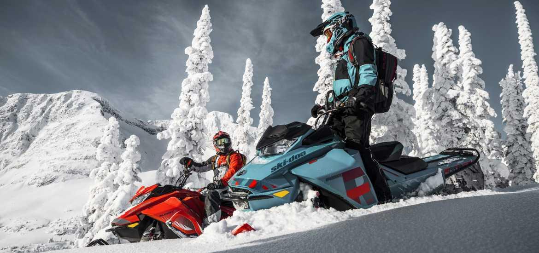 Снегоходный тур на Урале