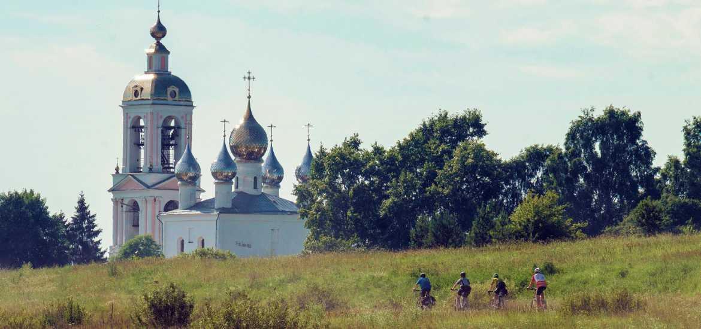 Велосипедный тур по Золотому Кольцу России