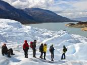 Спуск с ледника Перито Морено, тур в Патагонию