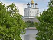 Путешествие по России в Псков