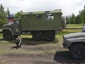 Типичный транспорт для Алтайского бездорожья