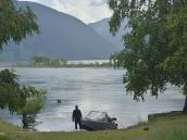 Моторные лодки на Телецком озере