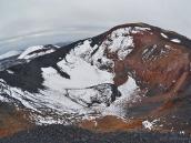 Кратер молодого вулкана, Камчатка