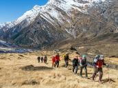 Треккинг вокруг Дхаулагири к Саллагари и Итальянскому Базовому лагерю. Трекинг в Непале, тур в Непал, Непал отдых, путешествие в Гималаи