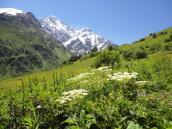 летний поход в горы Грузии