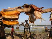 Путешествие по Эфиопии, рыбаки в деревне.