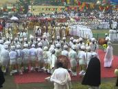 Религиозная церемония в Эфиопии.