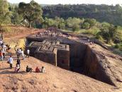 Путешествие по Эфиопии, посещение Лалибелы.