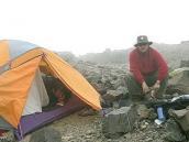 Фото из тура в Аргентину в 2006 году. Акклиматизация на склонах пика Валлеситос