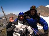 Фото из тура в Аргентину в 2006 году. На вершине пика Валлеситос