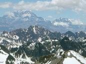 Фото из тура в Аргентину в 2006 году. Вид на Аконкагуа с вершины пика Валлеситос