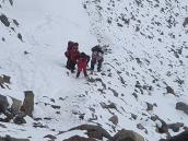 Фото из тура в Аргентину в 2006 году. Последние 50 метров на пути к вершине Аконкагуа