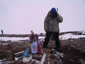 Фото из тура в Аргентину в 2006 году. Лучший момент на вершине - это звонок любимой