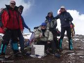 Фото из тура в Аргентину в 2006 году. Фото на память на вершине Аконкагуа