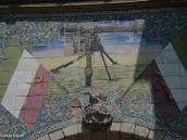 """Фото из тура в Иран в 2011 году. Входные ворота в Дворец. Кажется это пулемет """"Максим""""... Или я что-то путаю?"""