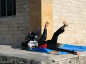 Фото из тура в Иран в 2011 году. Этот человек только что спустился с Демавенда ... Бедняга:-)).