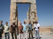 Фото из тура в Иран в 2011 году. Ворота в Персеполис. Да, жили люди!