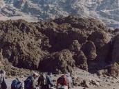 Фото из тура в Танзанию в 2003 году. Штурм продолжается.