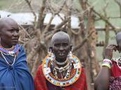 Фото из тура в Танзанию в 2008 году. В масайской деревне.