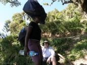Фото из тура в Танзанию в 2008 году. На подъеме к пику Меру, Танзания.