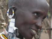 Фото из тура в Танзанию в 2008 году. Местная мода, Нгоронгоро.
