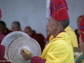 Фото из тура в Индию в 2005 году. Буддистский монах на празднике в монастыре недалеко от Леха.