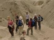 Фото из тура в Индию в 2005 году. Первый день треккинга через перевал от монастыря Ламаюру к деревне Ванла.