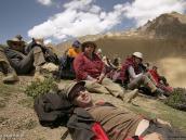 """Фото из тура в Индию в 2005 году. На перевале Конске-Ла (""""Воротник"""", 4950 м)."""