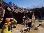 Фото из тура в Непал в 2004 году. Фотосессия в Лузе.