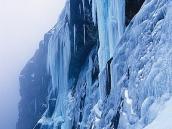 Фото из тура в Непал в 2004 году. Из Лузы мы поднялись  к замерзшему водопаду.