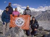 Фото из тура в Непал в 2004 году. Позади - Эверест !