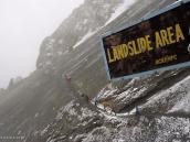 Фото из тура в Непал в 2011 году. Тропа от Кхангсара к Базовому лагерю Тиличо.