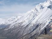Фото из тура в Непал в 2011 году.Спуск к стоянке Верхний Кхангсар. Вид вниз по долине Марсиангди.