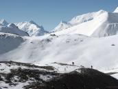 Фото из тура в Непал в 2011 году. Подход к перевалу Торунг-ла