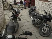 Фото из тура в Непал в 2011 году. Улицы вблизи монастыря в деревне Марфа