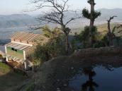 Фото из тура в Непал в 2011 году. Покхара, встреча восхода над Гималаями