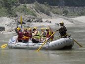 Фото из тура в Непал в 2012 году. Рафтинг на Трисули.