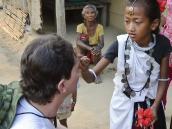 Фото из тура в Непал в 2012 году. Визит в деревню к племени Тхару.