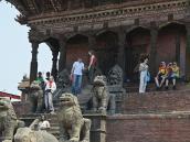 Фото из тура в Непал в 2012 году. Храм Ньятапола в Бхактапуре.