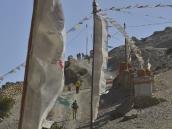 Фото из тура в Непал в 2012 году. Подъем на перевал из Гейлинга.