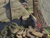 Фото из тура в Непал в 2012 году. Перевал над Гейлингом (3850 м).