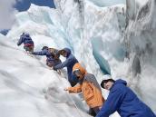 Фото из тура в Новую Зеландию в 2010 году. Треккинг на ледник Франз Джозеф, Новая Зеландия.
