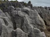 Фото из тура в Новую Зеландию в 2010 году. Знаменитые блинчиковые скалы. Новая Зеландия.